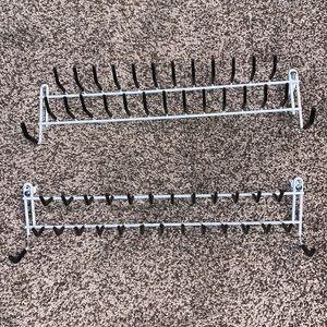 ClosetMaid Tie and Belt Rack, White
